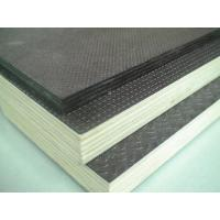 China Slip Resistant Colored Phenolic Film Faced Plywood With Double Time Hot Pressed 4-25mm wholesale