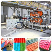 China New design High technolody, factory and house used plastic PVC roof tile making machine wholesale