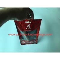 China Red Printed Cigar Humidor Bags With Moisturizing Sponge OPP / LDPE Laminated Material wholesale