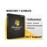 China Microsoft Windows 7 Professional Upgrade Key , Windows 7 Coa Sticker Retail Box Package wholesale