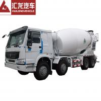 Buy cheap Heavy Duty HOWO 8*4 12 CBM Mini Concrete Mixer Truck Diesel High Operating from wholesalers