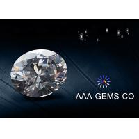 China Forever Brilliant Synthetic Oval Moissanite Gemstone Silicon Carbide wholesale