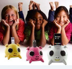 China Lovely Ipig mini speaker for ipod dock wholesale