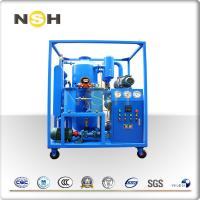 China High Vacuum Transformer Oil Purifier Dehydration With Roots Fixing Type With Four Wheels wholesale