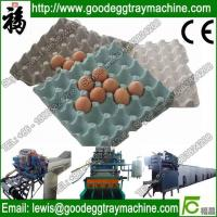 China Paper pulp molding/moulding machinery to make egg tray/egg carton wholesale