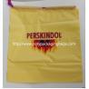 China Yellow Waterproof Nylon Mesh Promotional Drawstring Bags / Personalized Drawstring Bags wholesale
