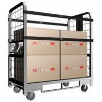 China Chassis With Plastic Plate Deck of Folding Rolling Utility Carts With Custom Dimensions on sale