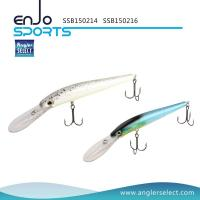 China Angler Select Deep Diving Stick Bait Fishing Lure with Vmc Treble Hooks (SSB150214) wholesale
