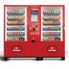 China Smart Food Vending Machines Customized Master Slave Cashless Payment wholesale