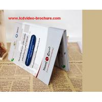 China Digital Business Card / Video Direct Mail With Hard Cover / Multi -Pages / Languages wholesale