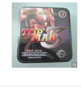 China Topman 3 Medicine Male Enhancement Coffee Male Sex Enhancement Capsules on sale