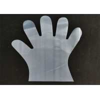 China Ecofriendly Breathable soft Transparent Biodegradable Disposable Gloves wholesale