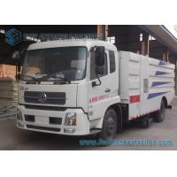 China 4x2 Drive Donfeng Road Cleaner Sanitation Truck 8000L For Dust Suction wholesale
