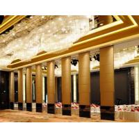 China Folding Panel System Operable Partition Walls for Function Room wholesale