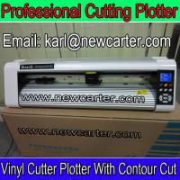 China Adhesive Vinyl Decal Cutter 24'' Cutting Plotter Contour Cutting Plotter Kuco Sign Cutters wholesale