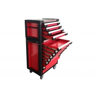 China 775mm 11 Drawer Fully Stocked  27 Inch Tool Chest Ergonomic Handle wholesale