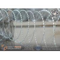 China BTO-22 Flatwrap Razor Wire O.D 500mm | China Razor Barbed Wire Factory wholesale