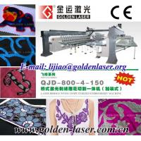 China Computerized 24 Heads Laser Bridge Embroidery System wholesale