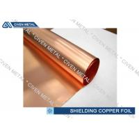 China Single - Shiny ED Copper Foil For Shielding With Maximum Width 1290mm wholesale