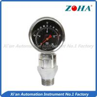 China Shock Resistance Slurry Pressure Gauge , Mini Liquid Filled Pressure Gauge wholesale