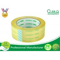 China Strong Sticky Transparent Crystal Clear Tape BOPP Reinforced Packaging Tape on sale