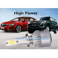 China 35 W H1 H4 9004 Car Aviation Aluminum LED Headlight Bulbs 5000LM wholesale