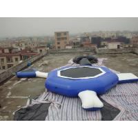 China Aquaglide Inversible Water Bouncer Lounge , Inflatable Water Games Factory wholesale