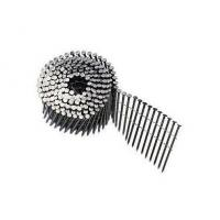 China Wire Collated Galvanised Coil Nails For Construction Screw Shank Available 2'' x .120'' wholesale