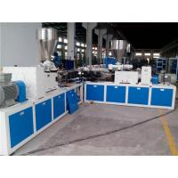 China 16 - 800mm OD PVC Plastic Pipe Extrusion Machine For Three Layer Co - Extrusion Pipe wholesale