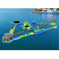 China Commercial Outdoor Inflatable Floating Water Park Equipment in Hotels on sale