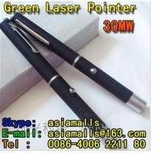 China 30mw Green laser pointer laser torch on sale