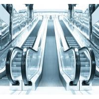 China 35 Degree Commercial VVVF Escalator with Glass Balustrade and Aluminum Step wholesale