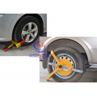 China Trucks / Big Vehicle / trailer wheel clamp lock Adjustable Size , Easy operate wholesale