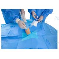 China Customized Upper Limb Sterile Surgical Drapes , Operating Room Drapes With Incision Film wholesale