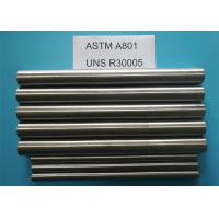 Buy cheap FeCo27 ASTM A801 Soft Magnetic Materials With High Magnetic Saturation from wholesalers