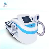 China Portable Cryolipolysis Cool Sculpting With Cavitation RF Laser Lipo Slimming System wholesale