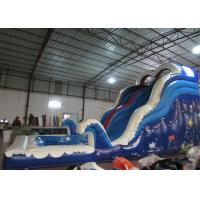 China Amusement Park Commercial Inflatable Water Slides Arch 8 X 3.5 X 5m For Kindergarten Baby wholesale