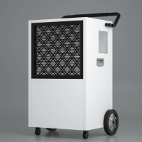 China Big Wheel 90L Commercial Grade Dehumidifier With Handle wholesale