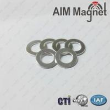 China N35 neodymium ring magnet for google glasses cardboard D19xd9.5x1.6mm on sale