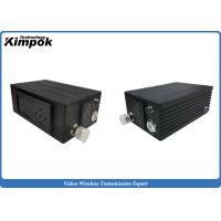 China H.264 2W Mini COFDM Transmitter , RF SD Digital Video Transmitter And Receiver wholesale