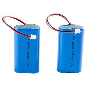 China Rechargeable Panasonic 7.4V 2200mAh 18650 Lithium Battery wholesale