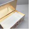 China Custom made Recycling cosmetics printing laminating cardboard paper box wholesale