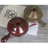 China Brown and Yellow Industrial Ceramic Parts One Handle in Microwave Oven wholesale