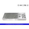 China Machine Industrial Keyboard With Trackball Desktop Stainless Steel Keyboard wholesale