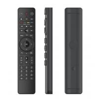 China Black Color Universal Remote Control Stylish Ultra - Thin Design Easy Operation wholesale