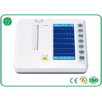 China Digital Electrocardiograph Portable ECG Machine 6 Channel Format Recording wholesale