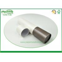 China Recyclable Cardboard Paper Tubes , Stamping Logo Paper Canister Packaging wholesale
