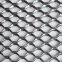 China Durable Stainless Steel Expanded Metal Lath 2.0mm Thinckness Mesh Curtain Wall wholesale