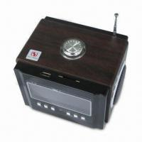 China SD/USB Stereo Mini Speaker with FM Function and Rechargeable Battery on sale