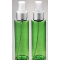 China Hot Sale cosmetic plastic PET Clear silver pump lotion  bottle 100ml with  with fine mist spray wholesale